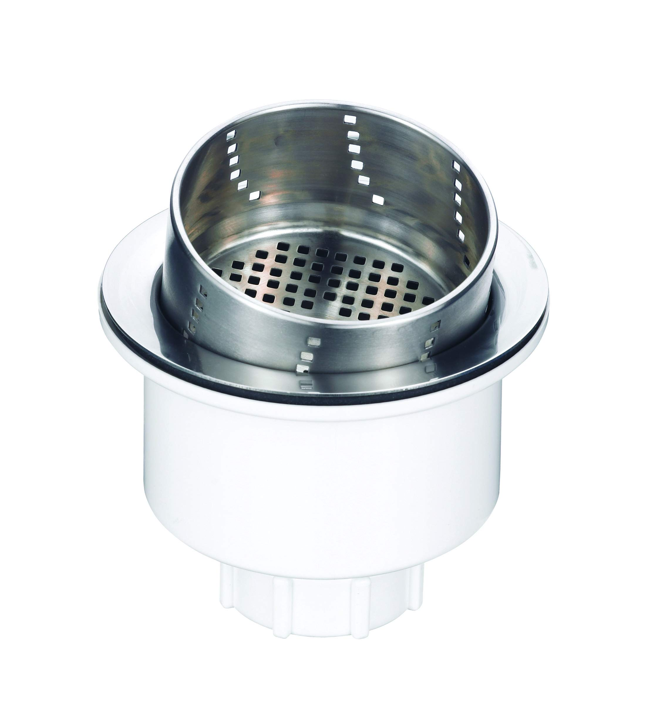 Blanco 441231 Accessories: 3-in-1 Basket Strainer, 3 in 1, Stainless Steel by BLANCO