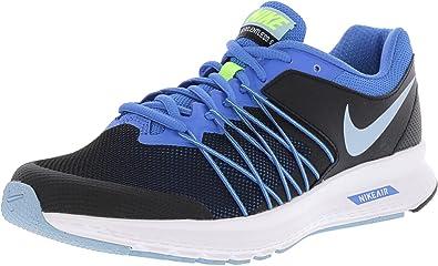 c5870ebb46607 ... NIKE Women s Air Relentless 6 Black Bluecap-Fountain Blue Ankle-High  Running Shoe ...
