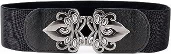LONFENNE Moda Retro Vintage cintura Stretch elástico cinturón las mujeres de nueva llegada 2.3