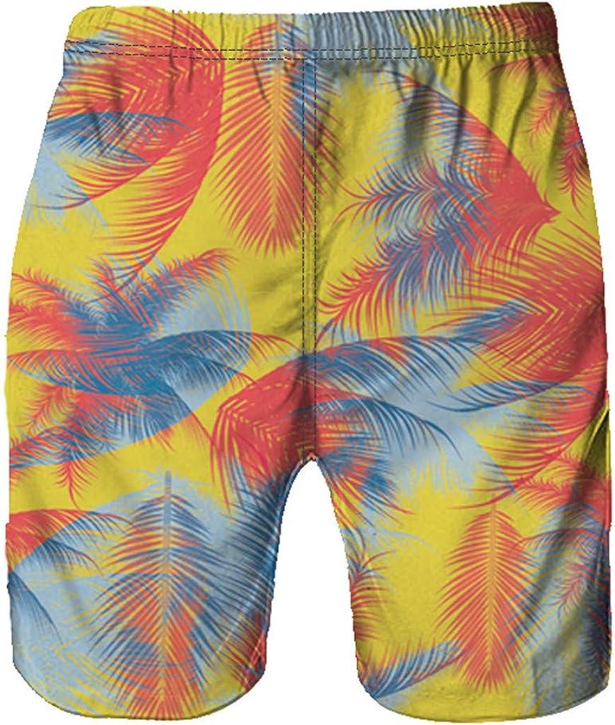 LEERYAAY Cargo/&Chinos Mens Shorts Swim Trunks Quick Dry Beach Surfing Running Swimming Watershort