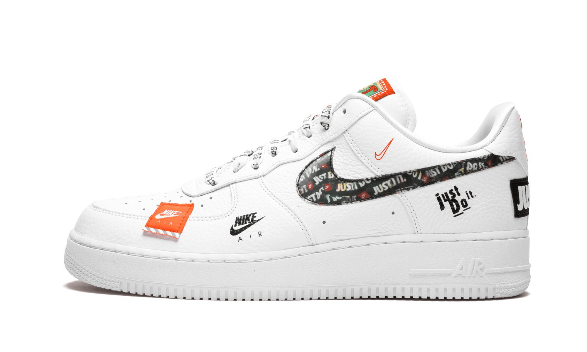 herren air force 1 '07 prm jdi fitnessschuhe orange