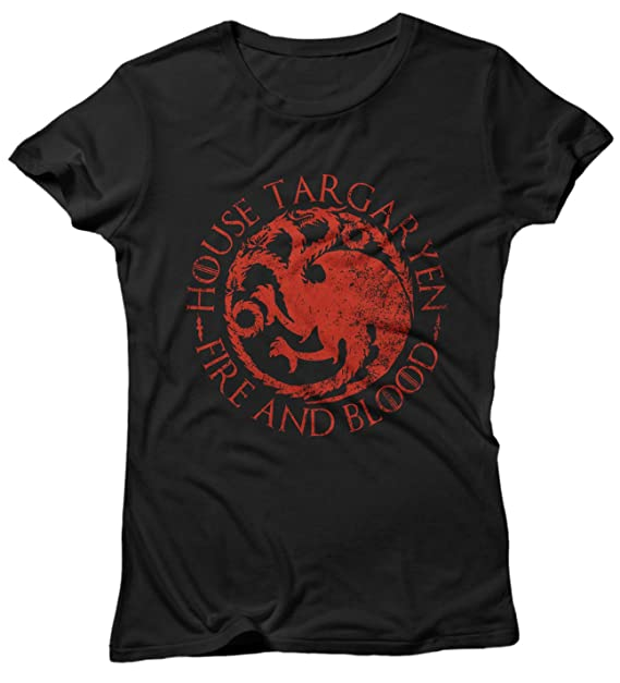 Targaryen Lamaglieria Of Game Donna T Shirt House Thrones XkZiOPu