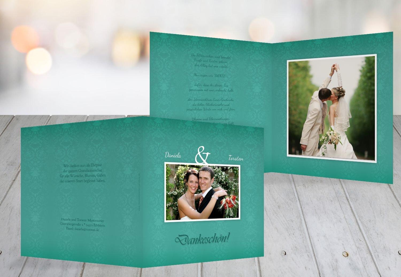 Kartenparadies Danksagung für Hochzeitsgeschenke Hochzeit Danke Eheversprechen, hochwertige Danksagungskarte Hochzeitsglückwünsche inklusive Umschläge   10 Karten - (Format  145x145 mm) Farbe  flamingoOrangerot B01MTBL3YH | Sehr gelobt