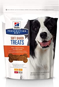Hill's Prescription Diet Soft Baked Dog Treats, 12oz bag