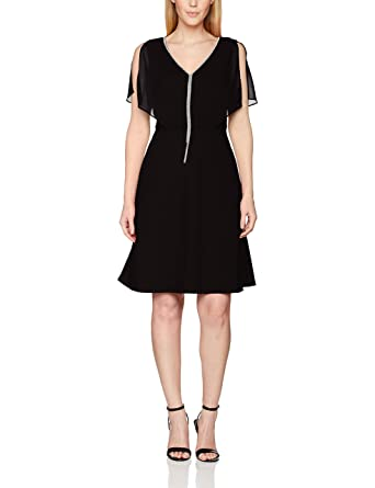 s.Oliver 29703825795, Robe Femme in Black 9999, Taille 34 dfd4785ca317