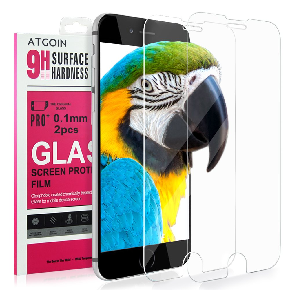 Iphone 6S Plus Screen Protector Atgoin Tempered Glass Screen Protector (2016 .. 18