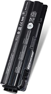 90Wh R795x XPS 17 Laptop Battery Replace for Dell L701X L702X L721X 15 14 1591 L502X L501X;fit:312-1123 312-1127 J70W7 JWPHF WHXY3 P09E P09E001 P09E002 453-10186 Notebook Battery 11.1V