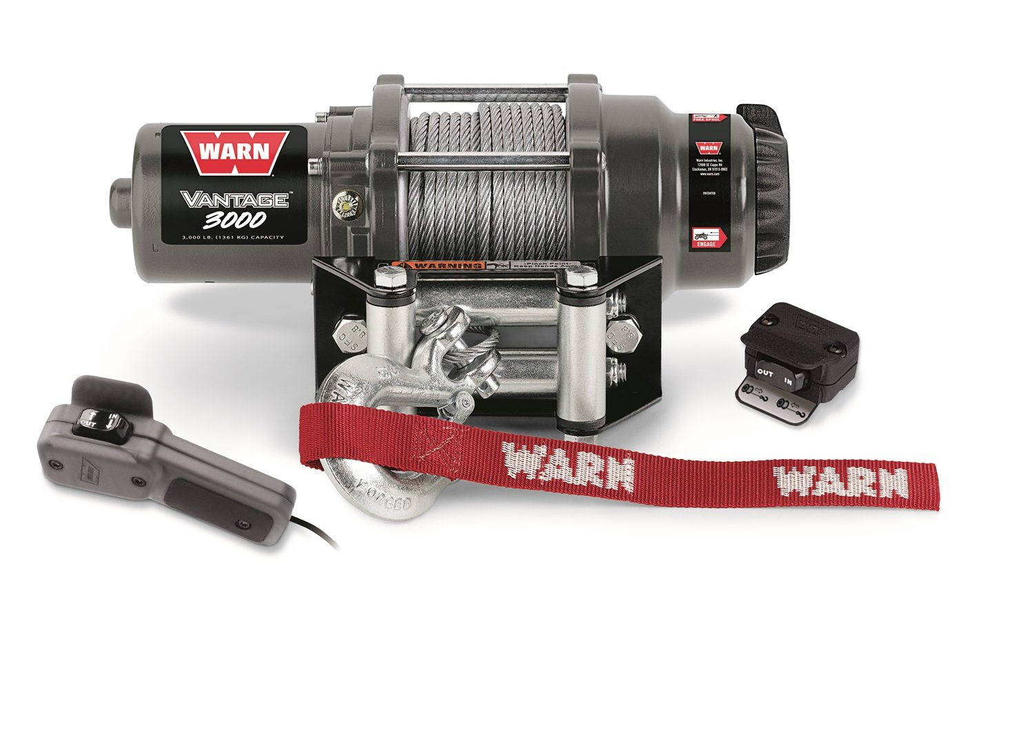 71jbS1GH2gL._SL1500_ amazon com warn 89030 vantage 3000 winch 3000 lb capacity warn vantage 3000 wiring diagram at bayanpartner.co