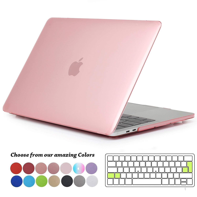 Tecool Funda para MacBook Pro 13 2016 2017 2018 2019, Plástico Dura Case Carcasa con Tapa del Teclado para MacBook Pro 13.3 Pulgadas con/sin Touch Bar ...