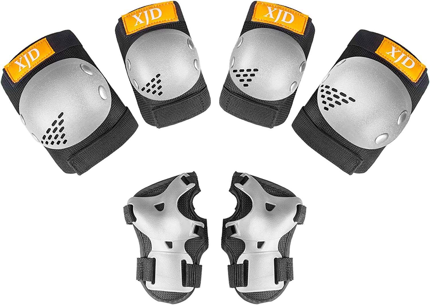 Kids Knee Pads Elbow Pads Wrist Guards Toddler Protective Gear Set Cycling Small