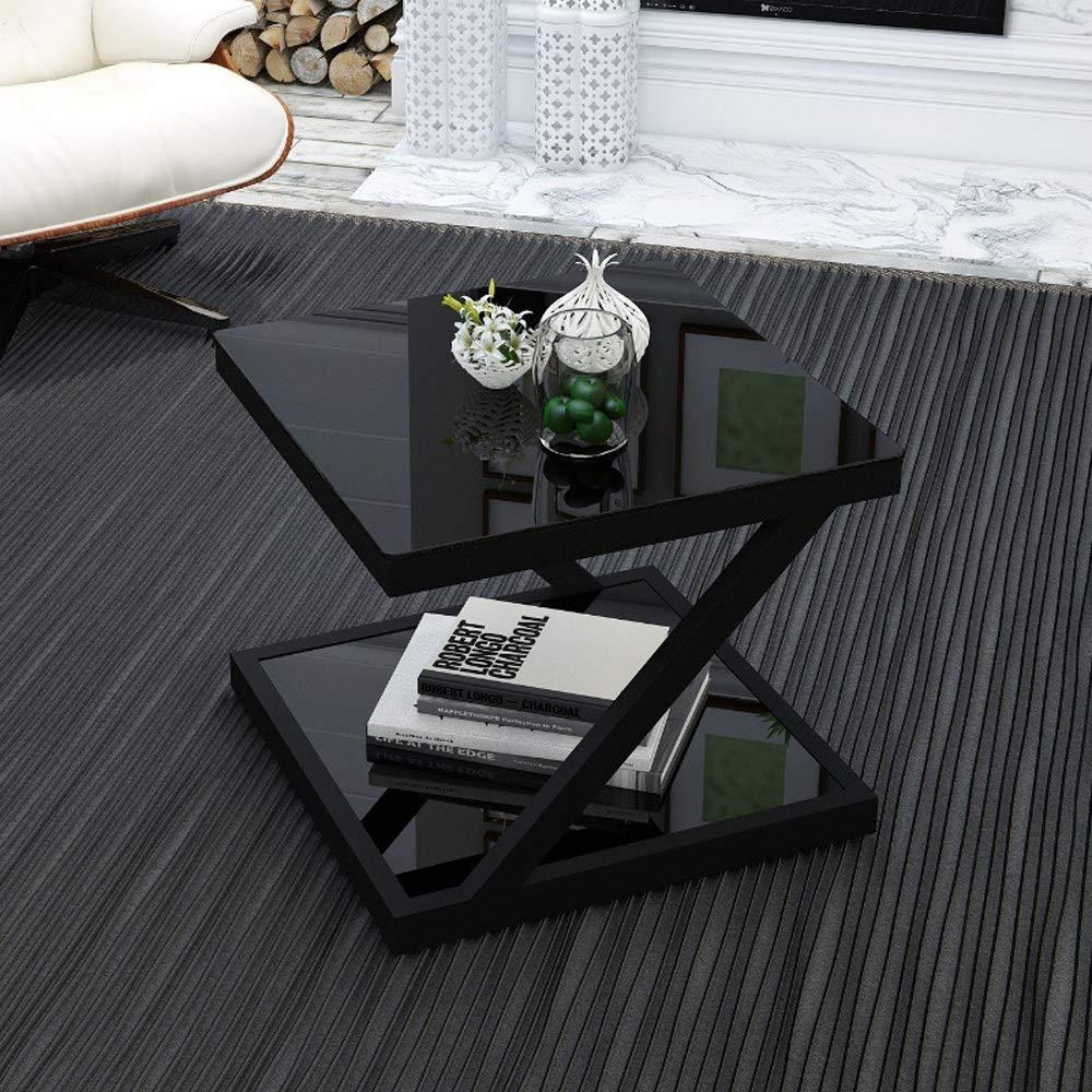LSX-Nachttisch Nachttisch, kleine doppel beistelltisch Sofa Seite Wohnzimmer Platz Ecke mehrere Schlafzimmer Mini nachttisch, geeignet for Wohnzimmer/Schlafzimmer/arbeitszimmer, 2 Farben erhältlic