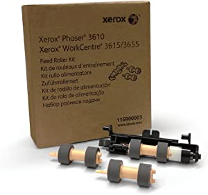 Genuine Xerox Paper Feed Roller Kit for the Xerox Phaser 3610 or WorkCentre 3615, 116R00003