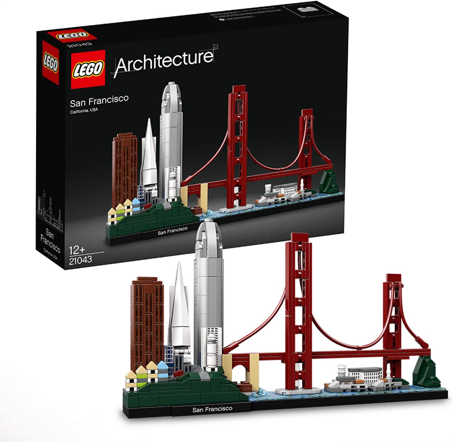LEGO 21043 Architecture San Francisco Model Building Set with ...