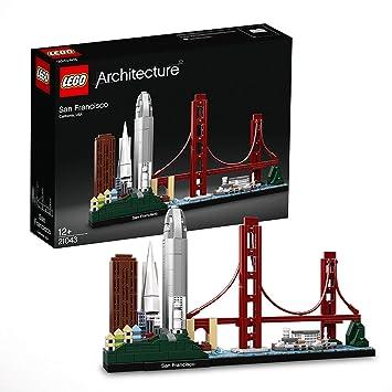 LEGO Architecture - San Francisco, maqueta decorativa de ciudad para construir (21043)