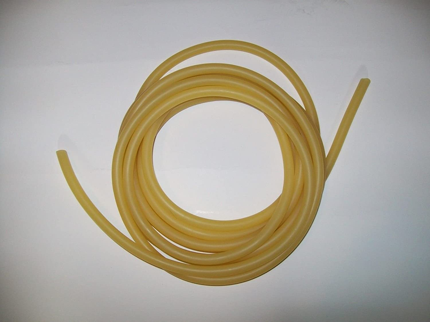 OutletBestSelling 5//16 I.D x 1//16 w x 7//16 O.D  5 feet SURGICAL LATEX RUBBER TUBING AMBER
