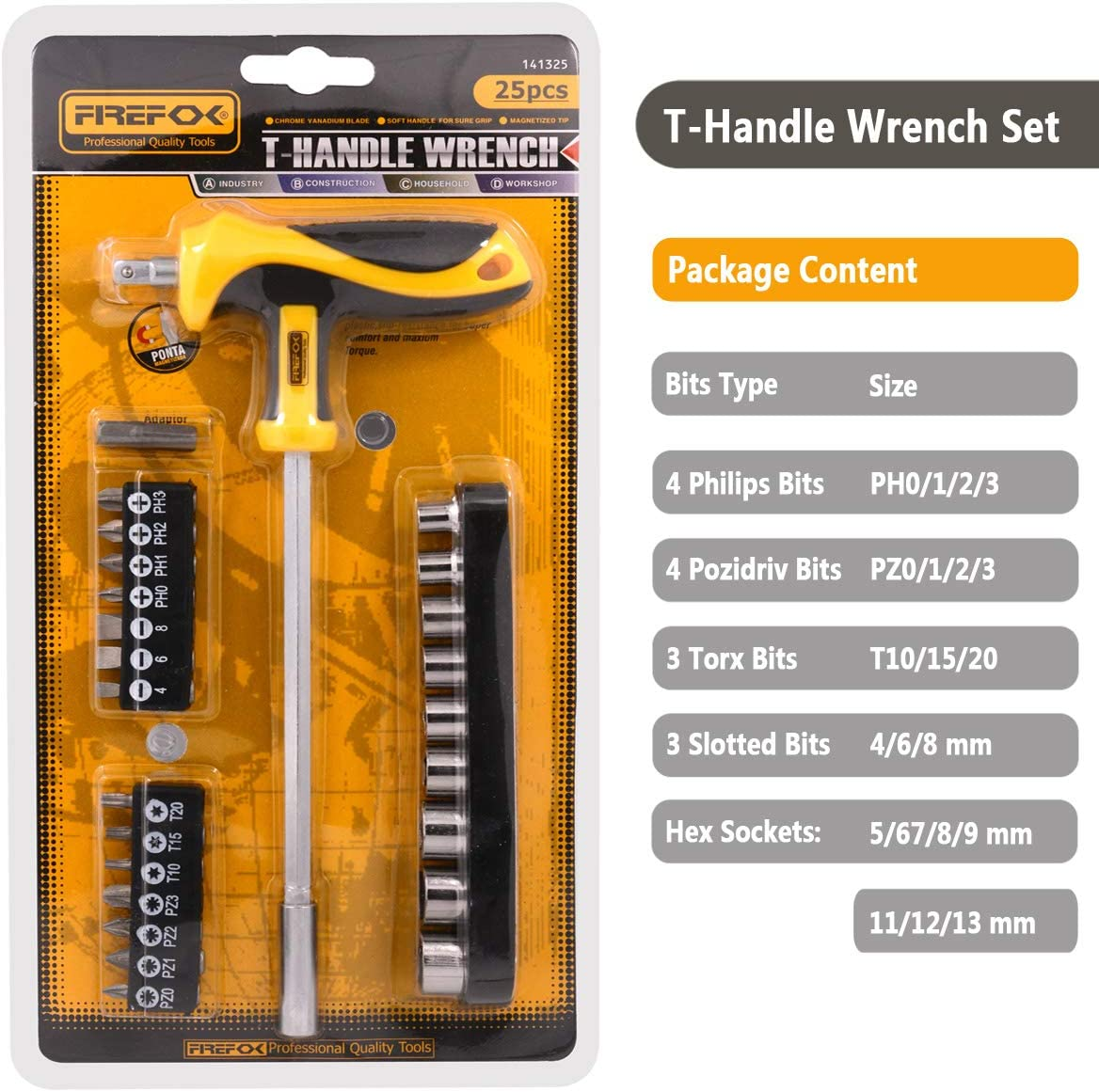 Schraubendreher Set 37 St/ücke Schraubendreher Ratsche Steckschl/üssel Set Torx Bit Kit Autoreparaturwerkzeuge