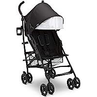 Jeep PowerGlyde Plus Stroller by Delta Children - Lightweight Travel Stroller with Smoothest Ride, Aluminum Frame, 4…