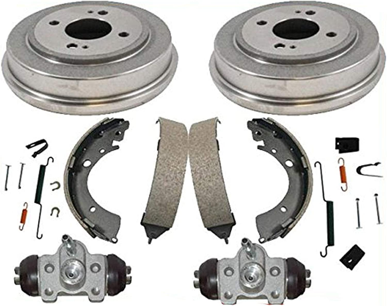 Complete Front /& Rear Brake Line Replacement Kit 92-95 Honda Civic w//rear drum