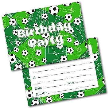 iuNWjvDU Conveniente niños Fiesta de cumpleaños de fútbol ...