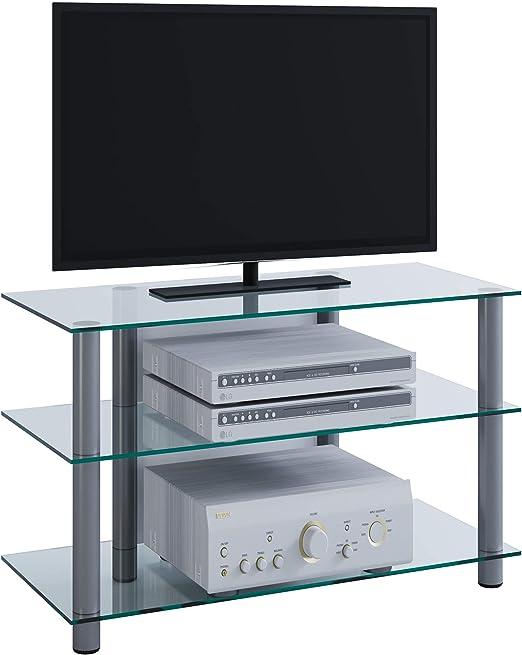 VCM 14120 Sindas-Mueble para TV, Cristal Claro: Amazon.es: Hogar