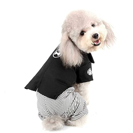 AYWJ Disfraz para Mascotas, Estilo clásico japonés Kimono, Vestido ...