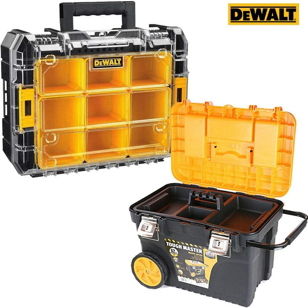 Dewalt DWST1-71194 Tstak - Caja organizadora apilable para 7 tazas + caja de almacenamiento para herramientas de 24 pulgadas: Amazon.es: Bricolaje y herramientas