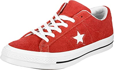 Converse Lifestyle One Star Ox Suede, Chaussures de Fitness