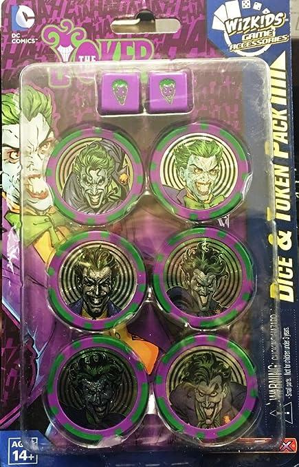 Dc Heroclix - Jokers Wild Tokens Y Dados Joker: Amazon.es ...
