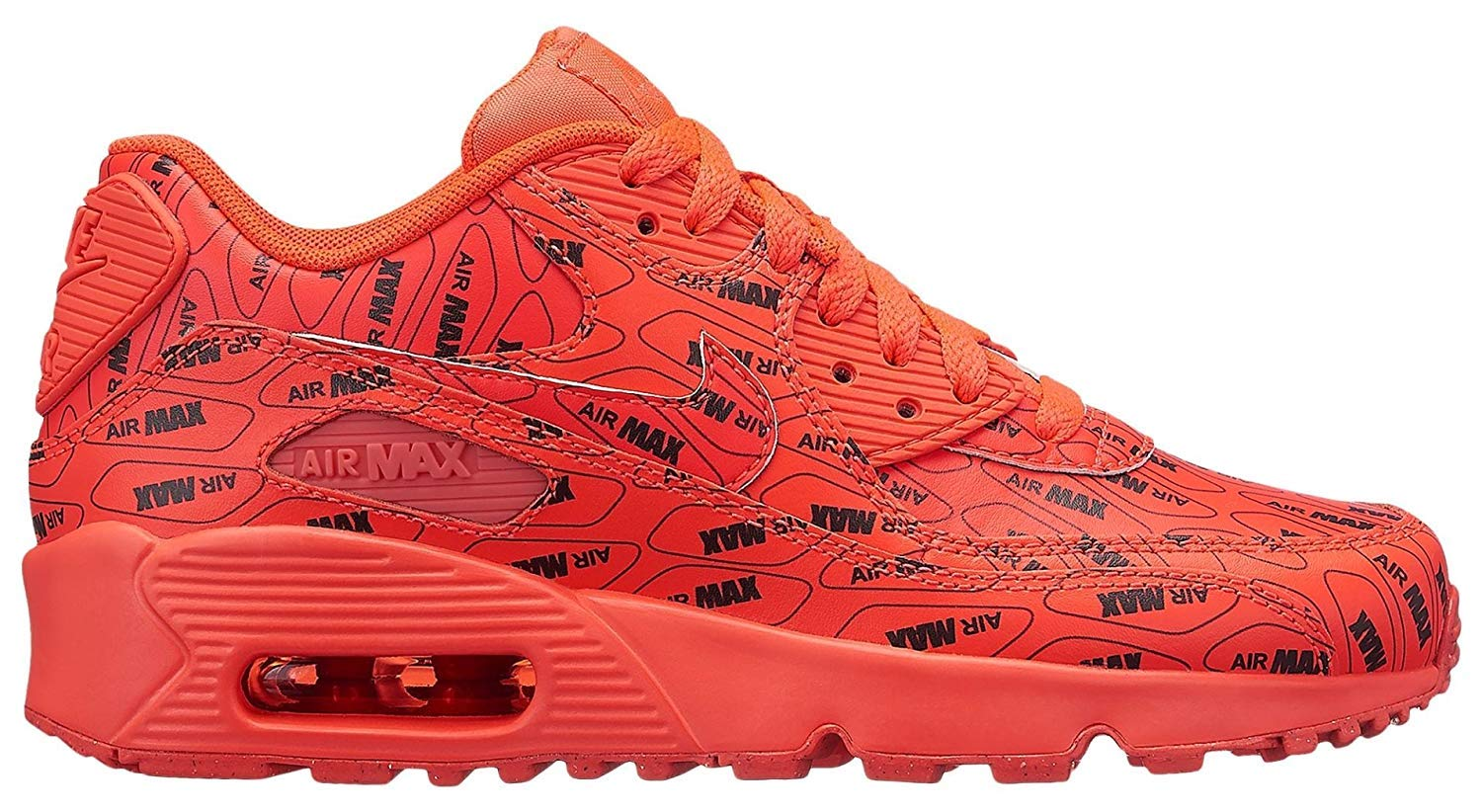 Details about NIKE Air Max 90 Se Ltr (gs) 859560 100 859560 100 SUMMIT WHITE SZ 6.5