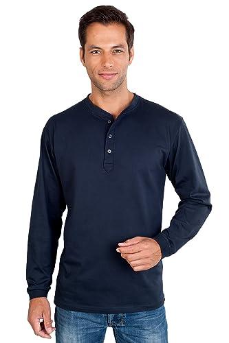 Quality Camisetas Serafino manga larga con botones talla S ...