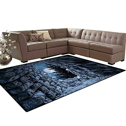Peachy Amazon Com Gothic Rug Dark Cave With The Light Of Full Andrewgaddart Wooden Chair Designs For Living Room Andrewgaddartcom