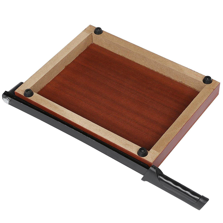 Evokem Tissue Paper Trimmer/Cutter,A4, B5, A5, B6, B7 Paper Cutter Guillotine,Wood Board by Evokem (Image #6)