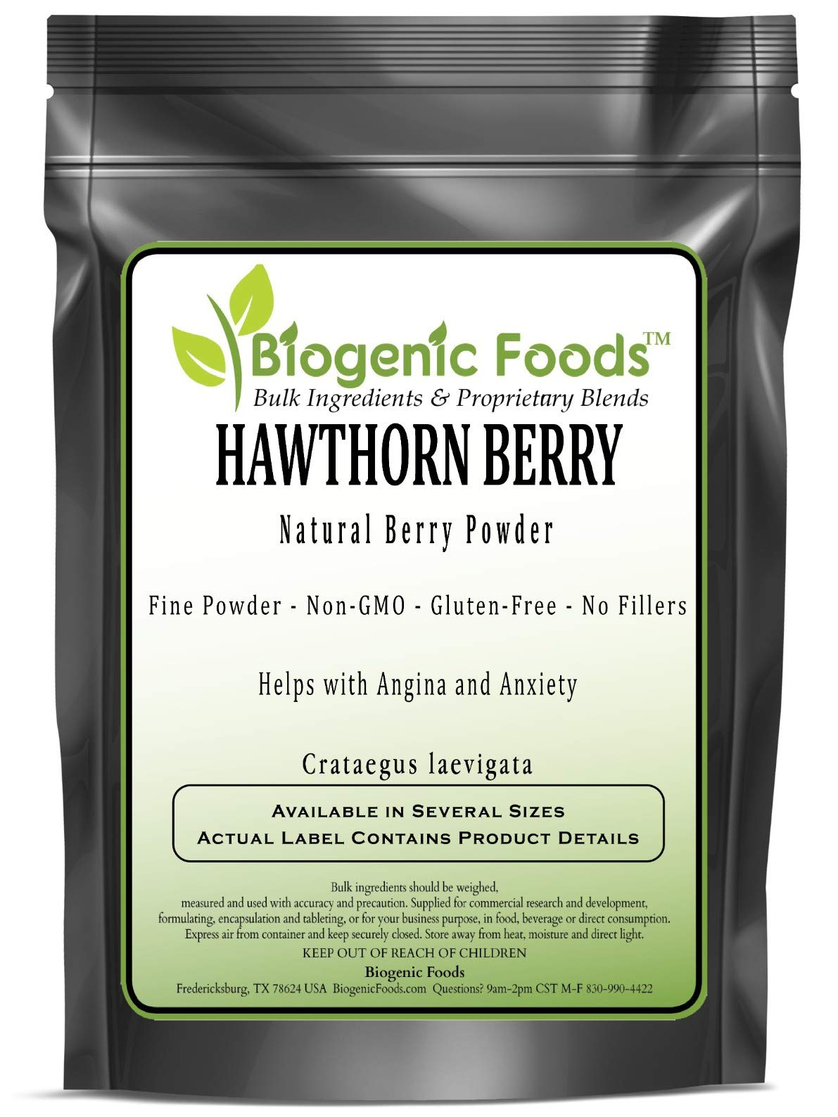 Hawthorn Berry - Natural Berry Fine Powder (Crataegus laevigata), 1 kg