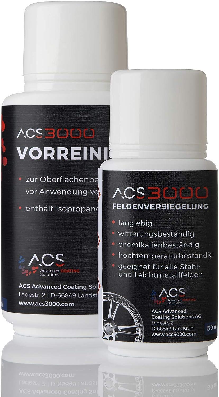 ACS3000 Felgenversiegelung. 5 Jahre Hochglanz und Schutz vor Salz -