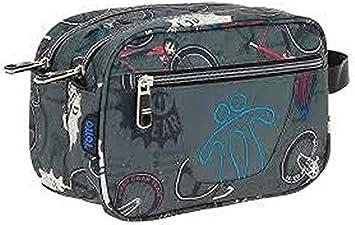 Totto AC52ECO010-1810Z-8G0 Estuche Escolar Dos Compartimentos Estampado Bicicletas, Plastilina: Amazon.es: Equipaje