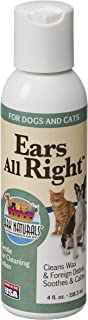 product image for ARK NATURALS Ears All Right, Gentle Ear Cleansing Lotion for Dogs, Relieve Issues with Infection, Allergies, Odor and Wax, Natural Botanical Formula, 4oz Bottle