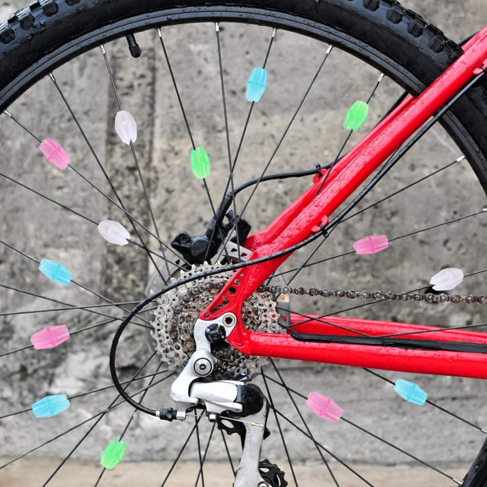72 Pack-by TRIXES Bicycle Spoke Beads Multicolour approx