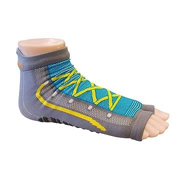 Sweakers® Grey Sport Calcetines antideslizantes para natación (19 - 22)