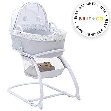 Amazon.com: Delta Children Deluxe Moisés Bassinet: Baby