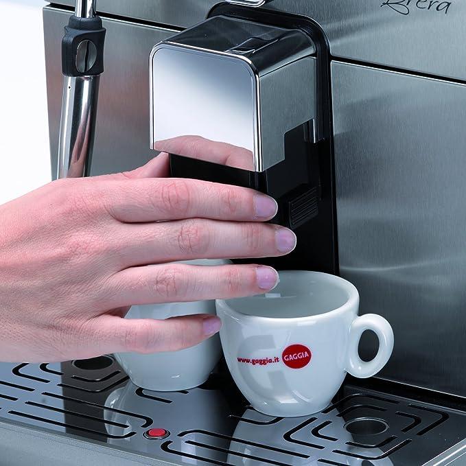 Gaggia Brera RI9305/11 -Máquina de café, color negro/plata: Amazon.es: Hogar