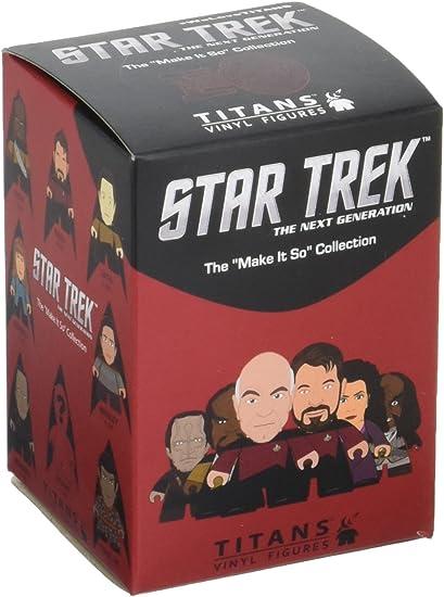 "Titans STAR TREK THE NEXT GENERATION Make It So Series TROI 3/"" Vinyl Figure"