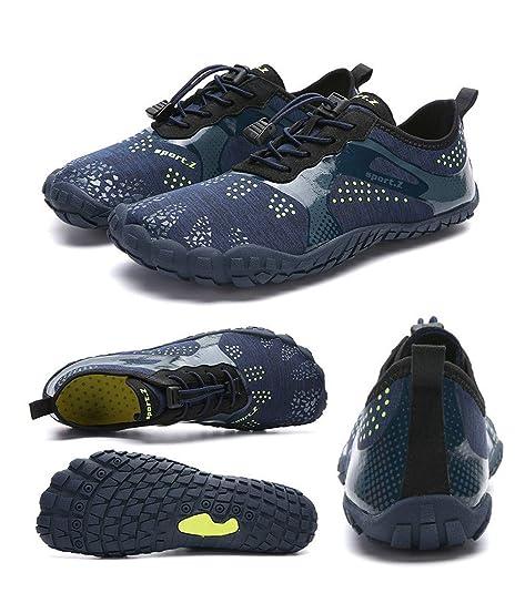 Zapatos de Playa - Zapatos de Piel Descalzo Calcetines de ...