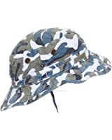 Mega Cap MG Camo Ripstop Floppy/Bucket Summer Hat W/Snap Up Sides