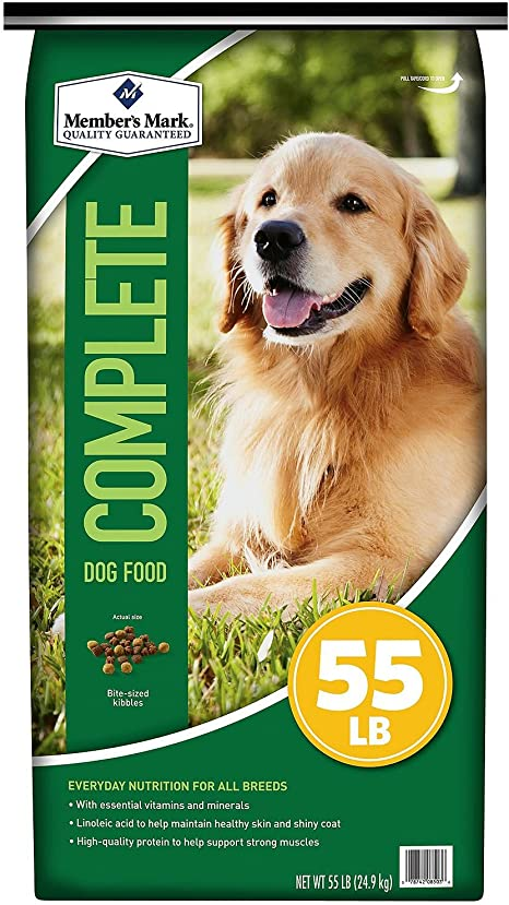 Amazon Com Member S Mark Complete Nutrition Dog Food 55 Lbs