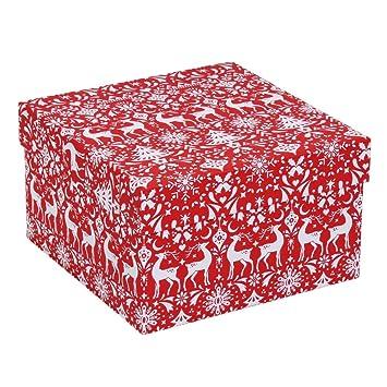 scandi large christmas gift box - Large Christmas Gift Boxes
