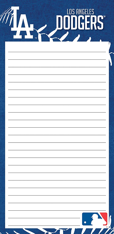 Turner Sports Los Angeles Dodgers 2 Pack List Pad (8129112)