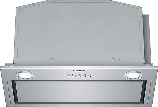 Siemens LB59584M - Campana (730 m³/h, Canalizado/Recirculación, A, A, D, 310 m³/h): 340.26: Amazon.es: Grandes electrodomésticos