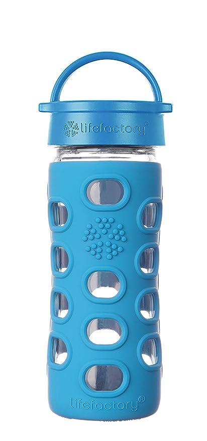 Amazon.com: Lifefactory - Botella de cristal con tapa ...