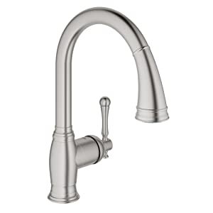Bridgeford Single-Handle Pull-Down Kitchen Faucet with Dual Spray