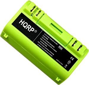 HQRP 3500mAh Green Line Extended Capacity APS Battery Compatible with iROBOT Scooba 6000/6050 [Vacuum Cleaning Robot] Replacement Plus Coaster